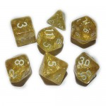 Dés  16mm - Role Playing Dice Set - Brillant Jaune