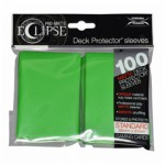 Sleeves  PRO-MATTE - Eclipse - Lime Green