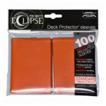 Sleeves  PRO-MATTE - Eclipse - Pumpkin Orange