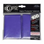 Sleeves  PRO-MATTE - Eclipse - Royal Purple