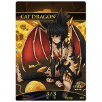 Magic The Gathering Token - Cat Dragon 3/3