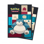 Sleeves Standard x65 Pokemon Snorlax