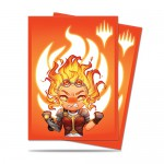 Sleeves Standard x100 Magic The Gathering Chibi Collection - Chandra - Maximum Power