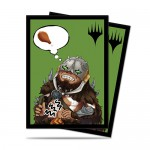 Sleeves Standard x100 Magic The Gathering Chibi Collection - Garruk - I'm Starving!