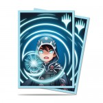 Sleeves Standard x100 Magic The Gathering Chibi Collection - Jace - Mystic
