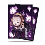 Sleeves Standard x100 Magic The Gathering Chibi Collection - Liliana - Talk To The Hand