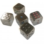 Dice Set - Metal