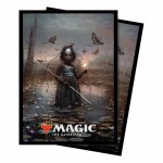 Sleeves Standard x100 Magic The Gathering Commander 2018 - V1