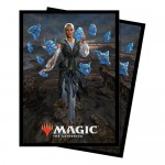 Sleeves Standard x100 Magic The Gathering Commander 2018 - V2