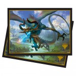 Sleeves Standard x100 Magic The Gathering Nicol Bolas, the Ravager