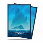 Sleeves Standard x100 Magic The Gathering Unstable Lands - Island