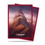 Sleeves Standard x100 Magic The Gathering Unstable Lands - Mountain