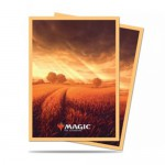 Sleeves Standard x100 Magic The Gathering Unstable Lands - Plains