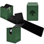 Deck Box Magic The Gathering Alcove Flip Box - Mana - Forest
