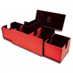 Deck Box  Vault V2 Dragon Hide - Red