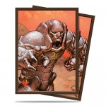 Sleeves Standard x100 Magic The Gathering Karn, Silver Golem