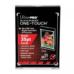 Sleeves  Black Border UV One Touch Magnetic Holder 35PT