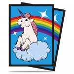 Sleeves Standard x50  Rainbow Unicorn