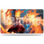 Play Mat Magic The Gathering War of the Spark / La Guerre des Planeswalkers - Version alternative - Chandra, Artisane du feu