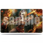 Play Mat Magic The Gathering War of the Spark / La Guerre des Planeswalkers - Version alternative - Nahiri, Orage de pierres