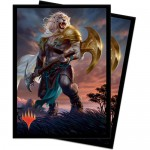 Sleeves Magic The Gathering Core Set 2020 / Édition de Base 2020  - Ajani, force de la bande