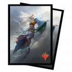 Sleeves Magic The Gathering Core Set 2020 / Édition de Base 2020  - Mu Yanling, danseuse céleste