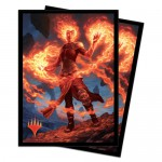 Sleeves Magic The Gathering Core Set 2020 / Édition de Base 2020  - Chandra, fournaise éveillée