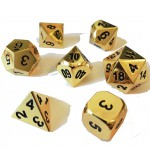 Dés  Metal Dice 20mm Set - Gold