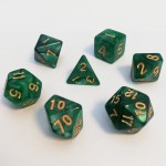 Dés  16mm - Role Playing Dice Set - Perle Vert