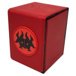 Deck Box Magic The Gathering Alcove Flip Box for Magic: The Gathering - Rakdos