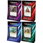 Deck Magic The Gathering Commander 2019 (4 Decks)