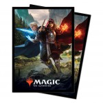 Sleeves Magic The Gathering Throne of Eldraine / Le Trône d'Eldraine - V1 - Les Scions royaux