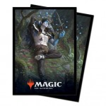 Sleeves Magic The Gathering Throne of Eldraine / Le Trône d'Eldraine - V2 - Oko, voleur de couronnes