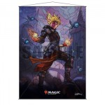 Wall Scroll Magic The Gathering Version Vitrail - Chandra