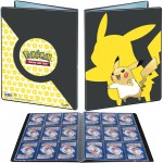 Portfolio Pokemon Pikachu - 10 pages de 9 cases (180 cartes recto-verso)