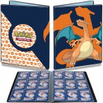 Portfolio Pokemon Dracaufeu - 10 pages de 9 cases (180 cartes recto-verso)