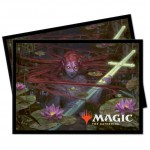 Sleeves Magic The Gathering Throne of Eldraine / Le Trône d'Eldraine - V4 -Emry, la Guetteuse du Loch Garruk, chasseur maudit