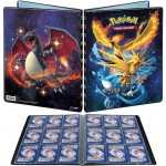 Portfolio Pokemon Hidden Fates - 10 pages de 9 cases (180 cartes recto-verso) - 10 pages de 9 cases (180 cartes recto-verso)