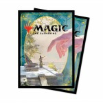 Sleeves Magic The Gathering Throne of Eldraine / Le Trône d'Eldraine - V4 - Précepteur idyllique