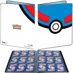 Portfolio Pokemon Great Ball - 10 pages de 9 cases (180 cartes recto-verso)