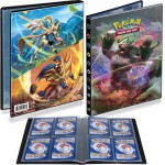 Portfolio Pokemon Gorythmic, Zacian & Zamazenta - 10 pages de 4 cases (80 cartes recto-verso)