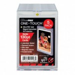 Sleeves  130PT UV One-Touch Magnetic Holder - 5 Unités