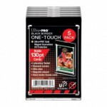 Sleeves  130PT Black Border UV One-Touch Magnetic Holder - 5 Unités