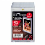 Sleeves  75PT UV One-Touch Magnetic Holder - 5 Unités