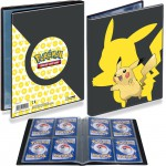Portfolio Pokemon Pikachu - 10 pages de 4 cases (80 cartes recto-verso)