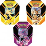 Pokebox Pokemon Pikachu-V, Ethernatos-V et Evoli-V (3 Pokebox)
