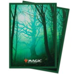 Sleeves Magic The Gathering Unstable Foret