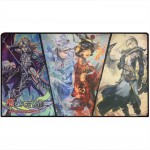 Tapis de Jeu Force of Will TCG 60x35cm - Rezzard, Reflect & Refrain, Arla