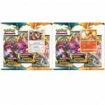Pack 3 Boosters Pokemon Ténèbres Embrasées (2 tri-packs)