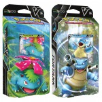 Deck Pokemon Combat V - Kit Initiation - Tortank-V & Florizarre-V (2 Decks)
